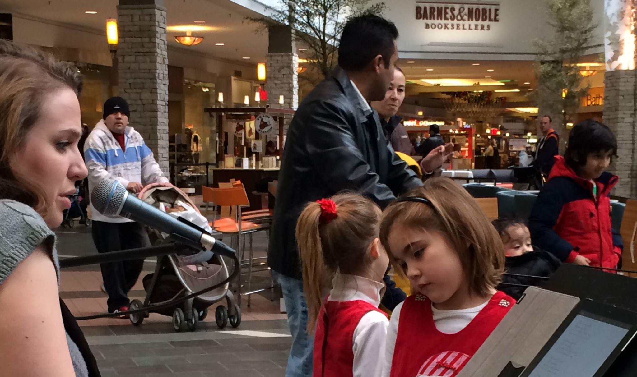 Spring Hill Mall Surprised By Guest Violinists In West Dundee, IL