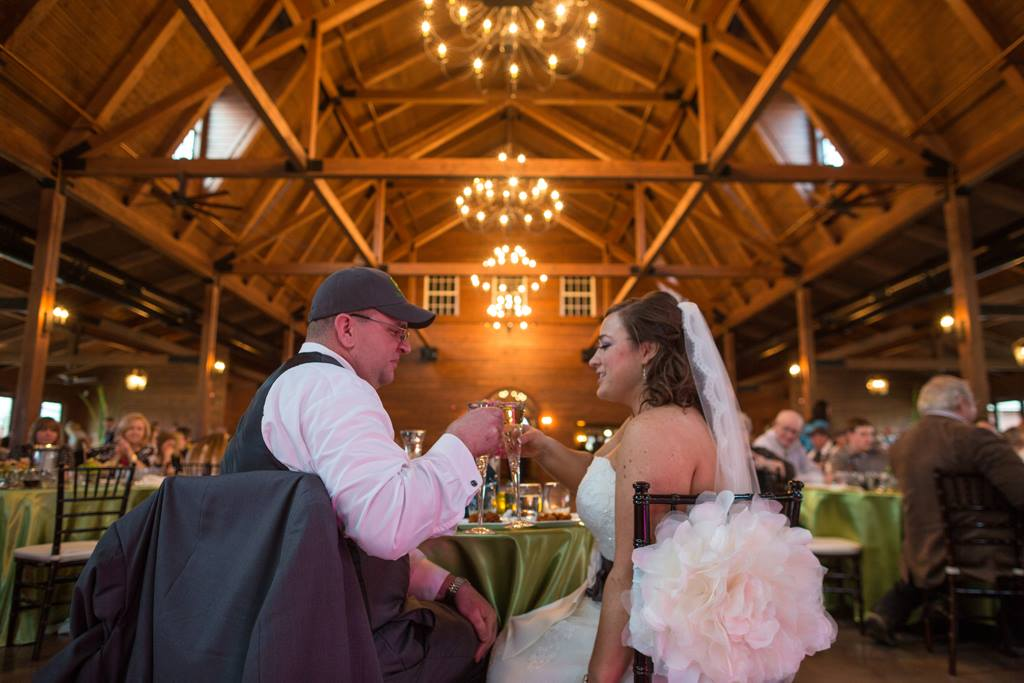 Orchard Ridge Farms Wedding Heads to Big Barn Celebration