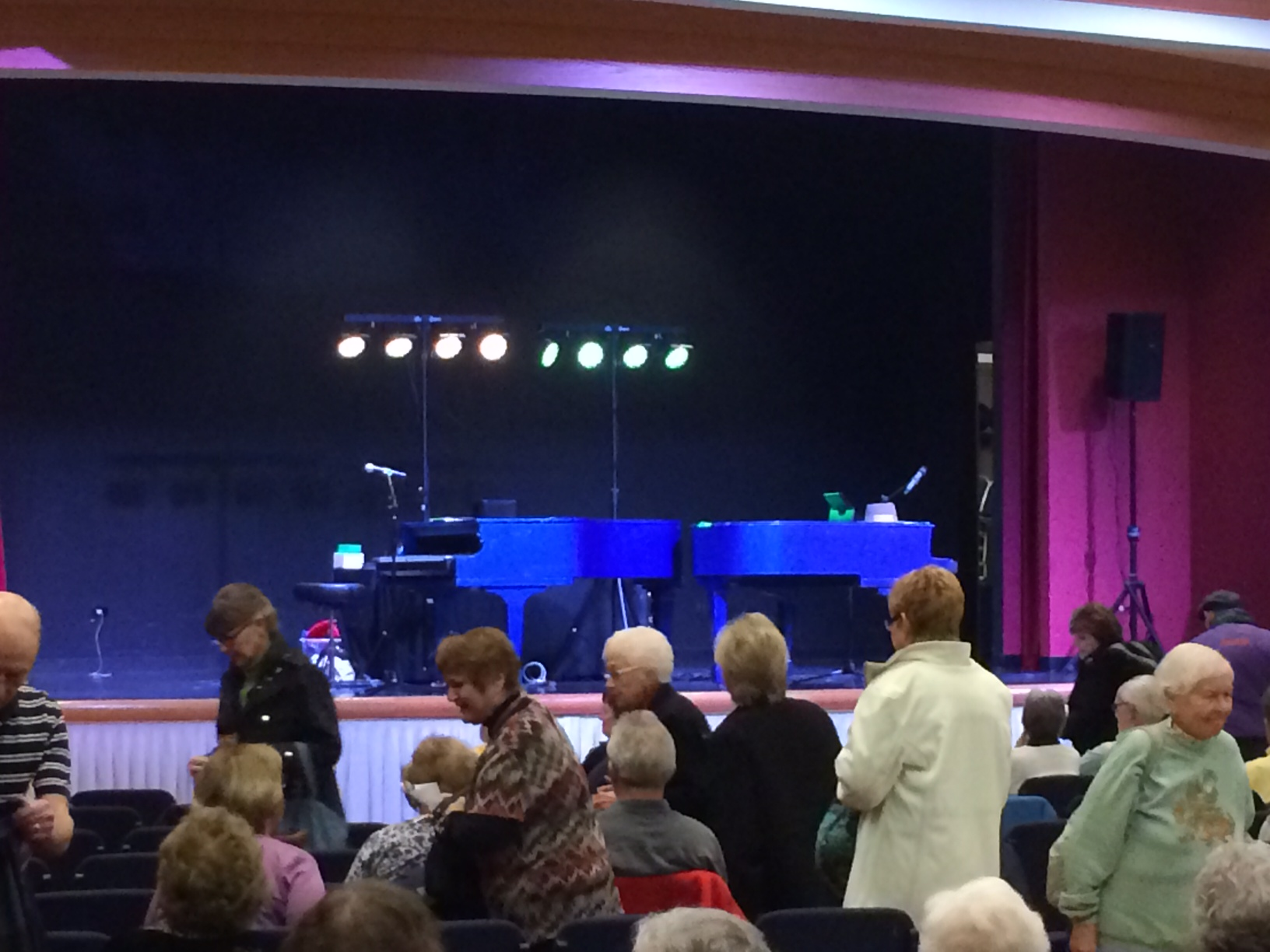 Senior Citizens Rock Hard To Dueling Pianos