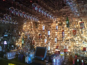Bottle Rack at Potter's Place in Naperville Il