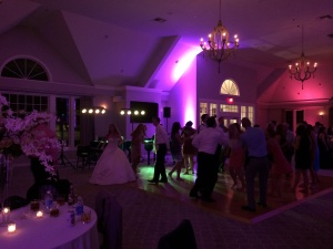 Wedding dancing at The Watermark Thiensville WI