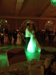First Dance at Walker Hall