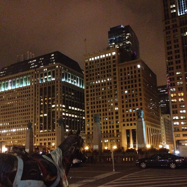 """CHILL-ing"" at the Chicago Merchandise Mart"