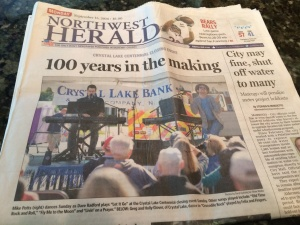 Felix and Fingers take Front Page - Northwest Herald