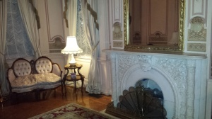 Elms mansion fireplace