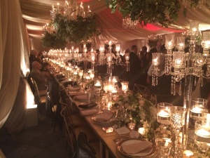 Elms mansion tables