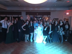 Wedding Pic at McHenry Country Club