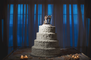 Have fun with your non traditional wedding Cake!