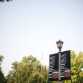 Eureka College Lightpost
