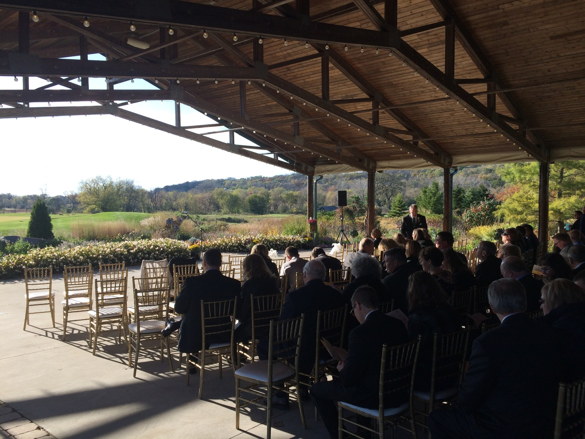 Ceremony Location At Hawk S View Golf Club