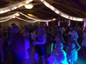 dance floor hawks view bride