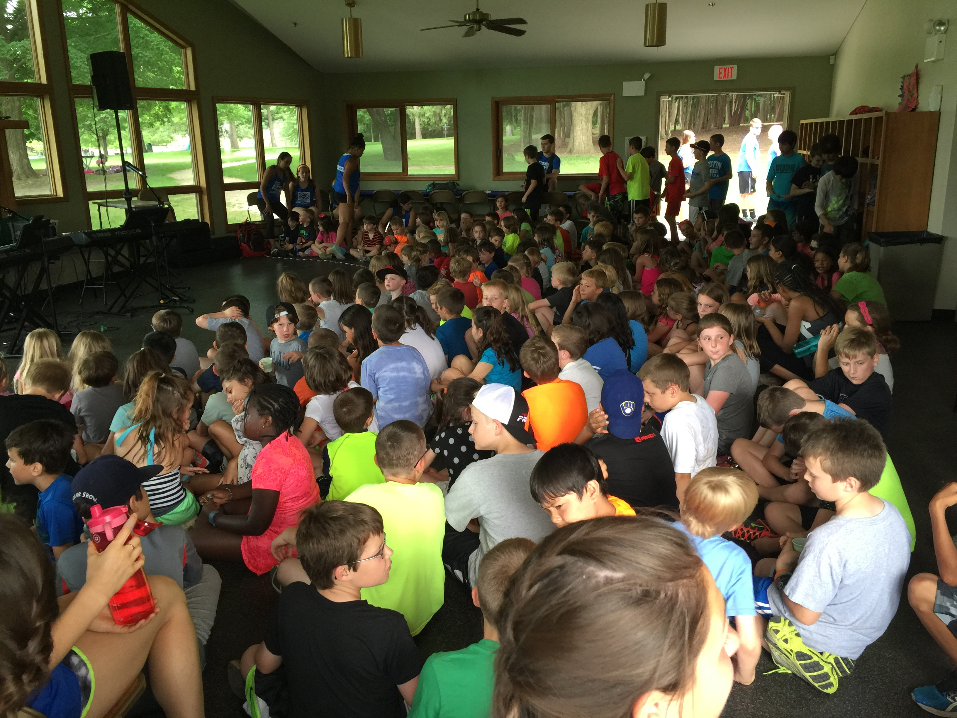 Dueling Pianos at Summer Camp