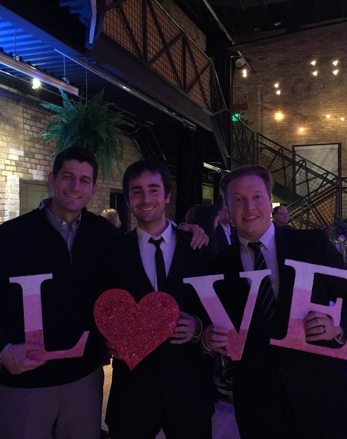 paul ryan with felix and fingers dueling pianos
