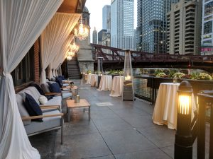 Outdoor patio - River Roast Wedding