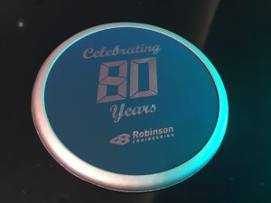 robinson engineering 80th anniversary