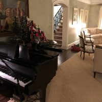 Piano Show and a Private Holiday Party - Winnetka Illinois