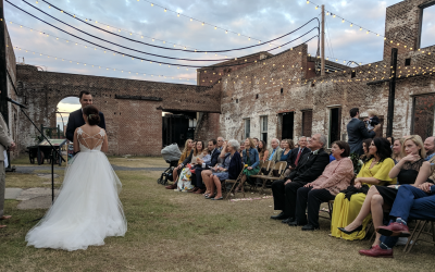 GA State Railroad Museum Wedding