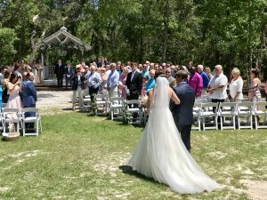 Chandler Oaks Barn Wedding Outside
