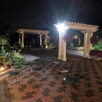 Silver Lakes Wedding outdoor patio