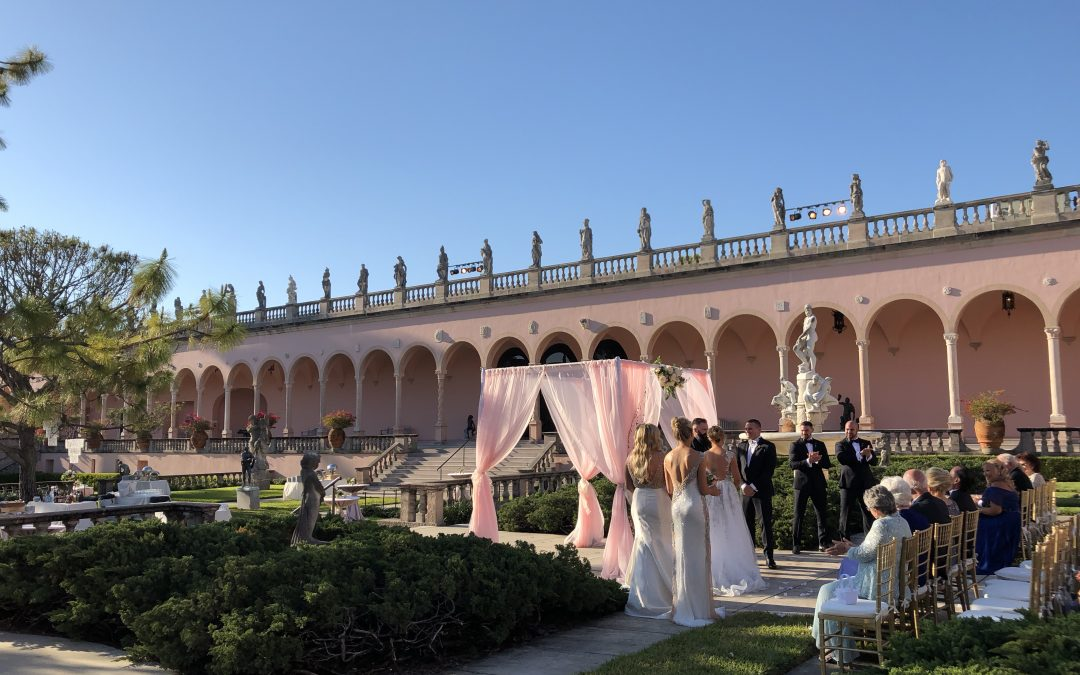 Ringling Art Museum Wedding