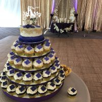 Gardens of Woodstock Wedding cupcakes