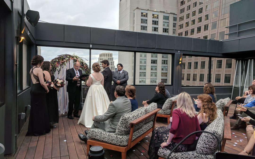 Cambria Hotel Magnificent Mile Wedding