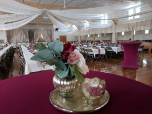 New Vienna Community Hall Wedding