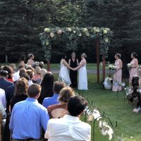 Cottage Grove Backyard Wedding