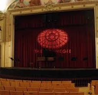 Carnegie Dueling Piano Show stage