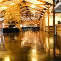 Williams Tree Farm Wedding reception