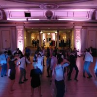 UW Madison Wedding dance floor