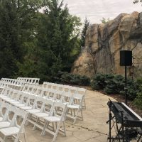 Brookfield Zoo Wedding ceremony space