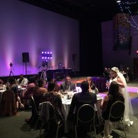 Brookfield Zoo Wedding reception space