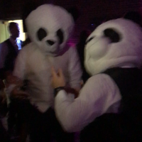 Columbus Park Refectory Wedding panda heads