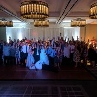 Hyatt Regency Schaumburg Wedding party