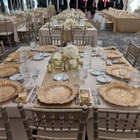 Monte Bello Estate Wedding table setting