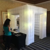 Boulder Ridge Wedding Event photo booth