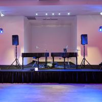 Janesville Country Club Holiday Event stage