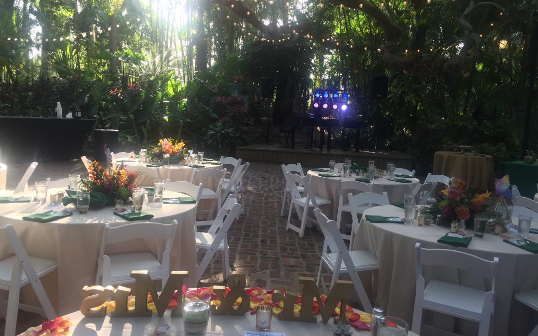 Sunken Gardens Florida Wedding Main