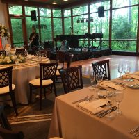 Hyatt Lodge Oakbrook Wedding stage