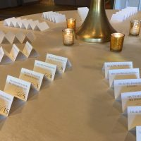 Hyatt Lodge Oakbrook Wedding place holders