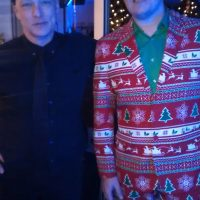 Tetra Pak Holiday Party performers Chris and Mike