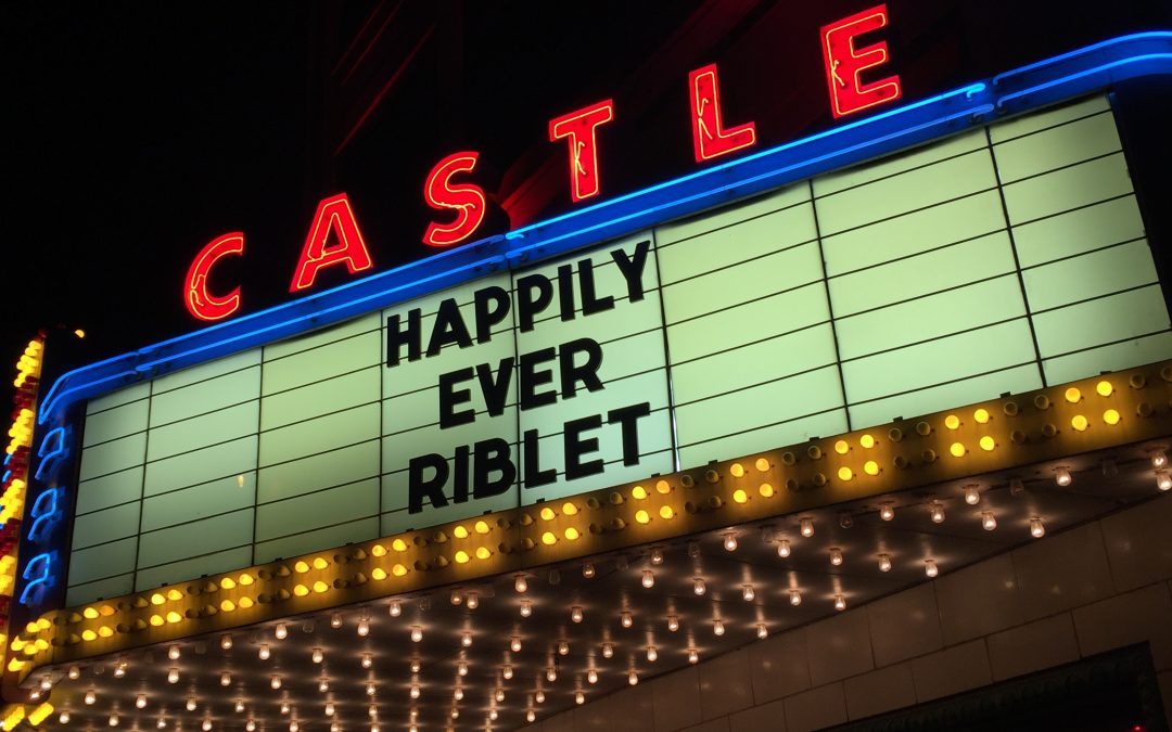 Castle Theater Wedding Reception