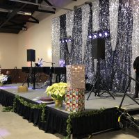Hy-vee Holiday Party stage
