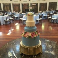 Audubon Tea Room Wedding cake