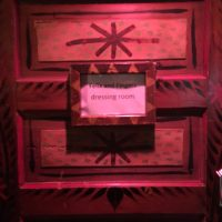 House of Blues Corporate Event dressing room door