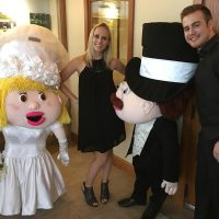 ThunderHawk Golf Club Wedding funny little people