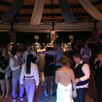 Beautiful Brookfield Zoo Wedding dance floor