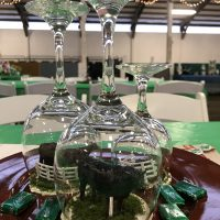 McHenry County 4H Fundraiser centerpieces