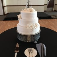 Signature Events Wedding Party cake front